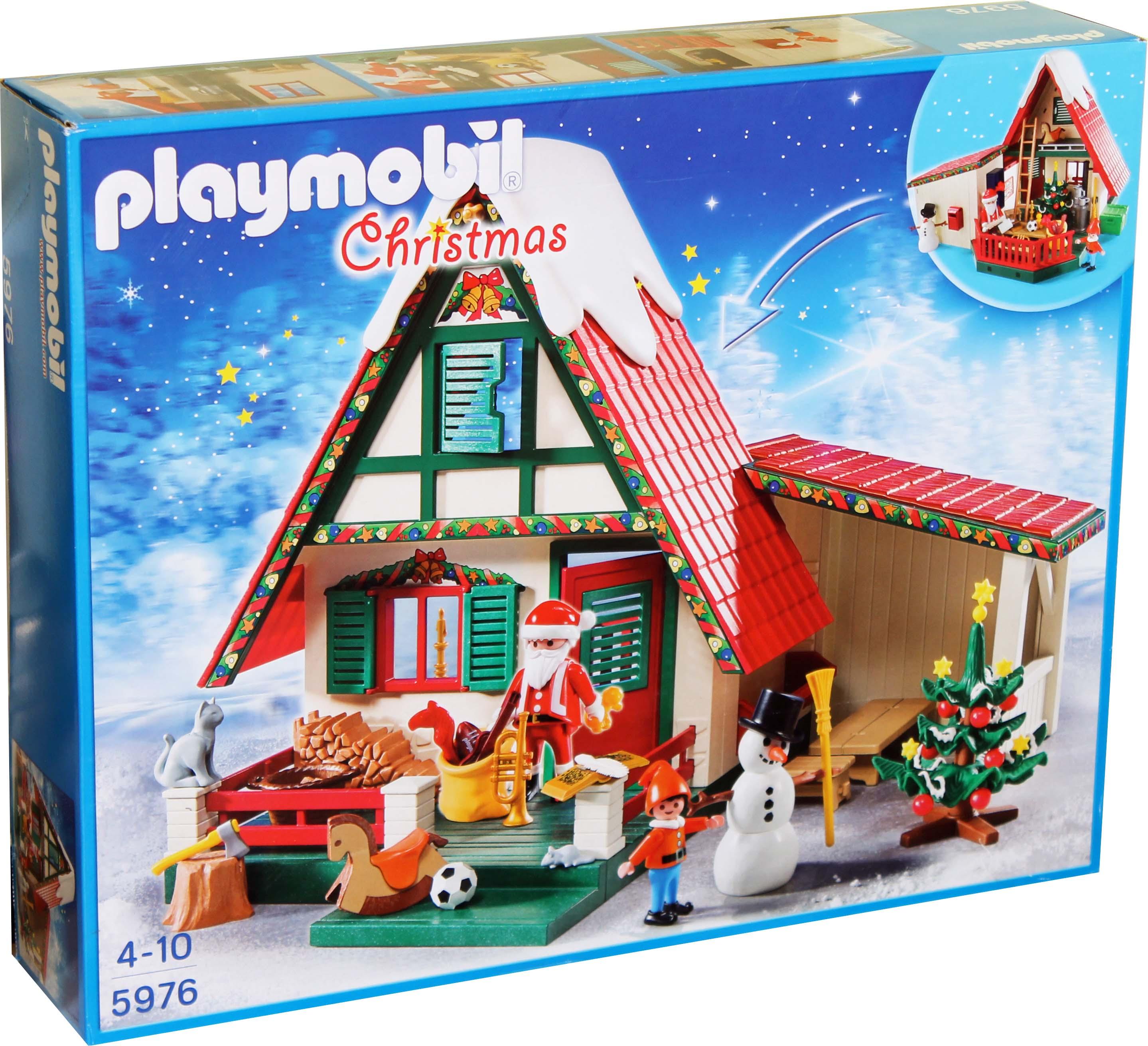playmobil 5976 zuhause beim weihnachtsmann weihnachten neu. Black Bedroom Furniture Sets. Home Design Ideas