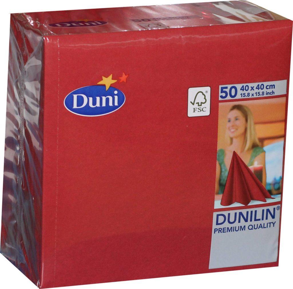 50x Duni Dunilin 330619 Gastro Servietten 40 X 40 Cm
