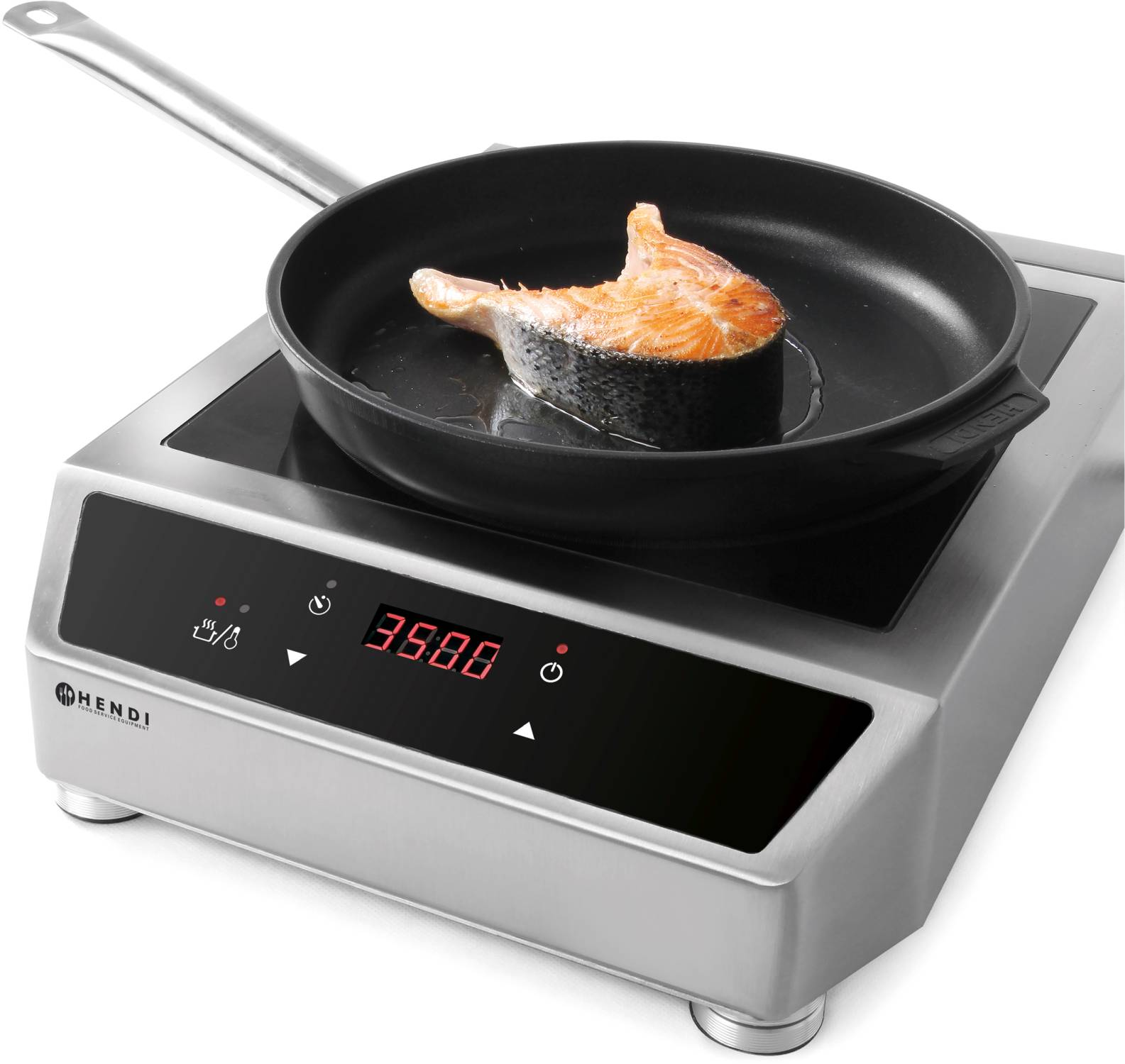 hendi gastro profi digital induktionsherd induction cooker 3500 watt 3 5 kw neu ebay. Black Bedroom Furniture Sets. Home Design Ideas