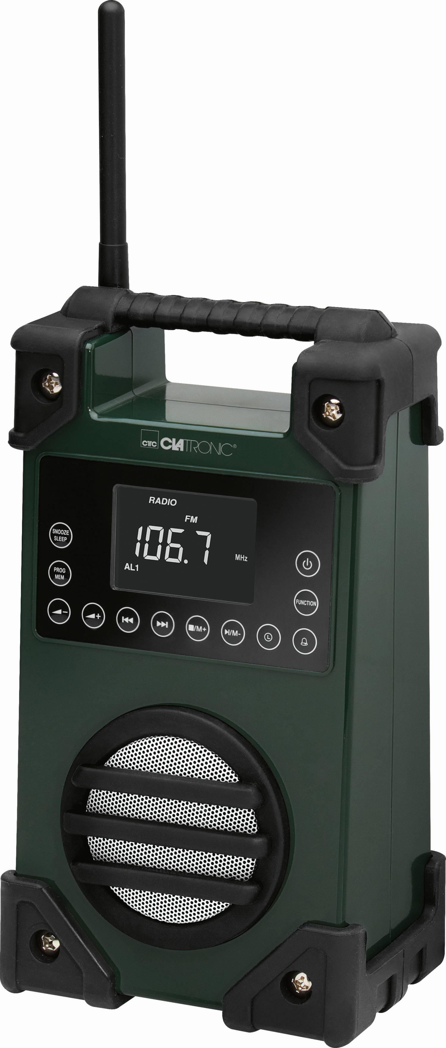 bundeswehr bw outdoor baustellen-radio werkstatt-radio mp3 usb oliv