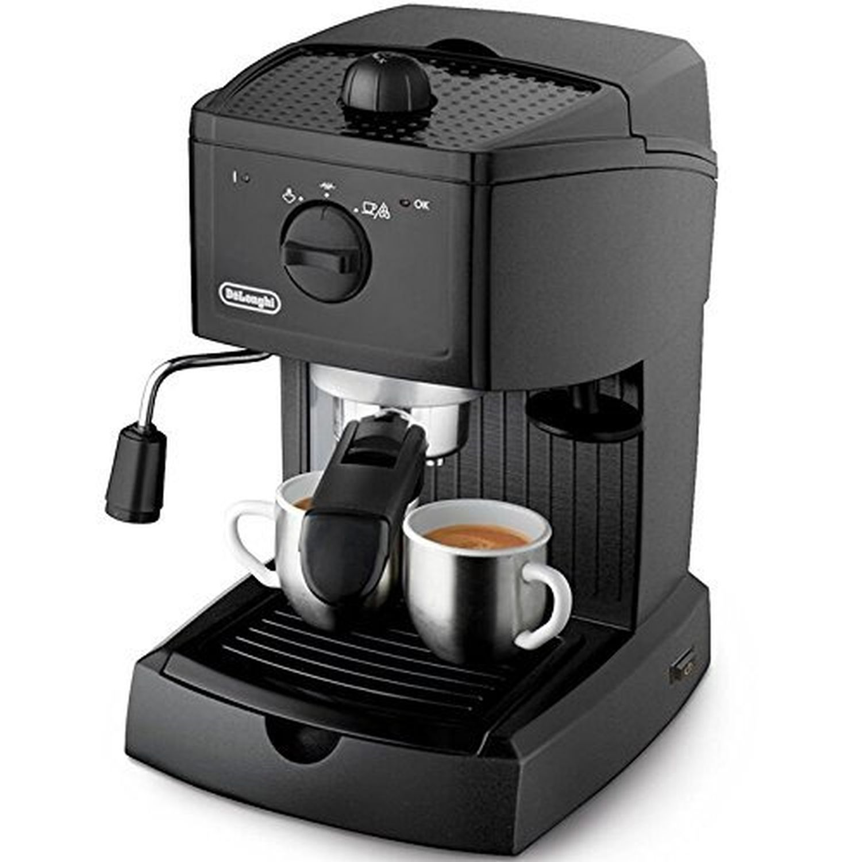 delonghi espressomaschine kaffeemaschine siebtr ger mit edelstahlkessel neu gastro. Black Bedroom Furniture Sets. Home Design Ideas