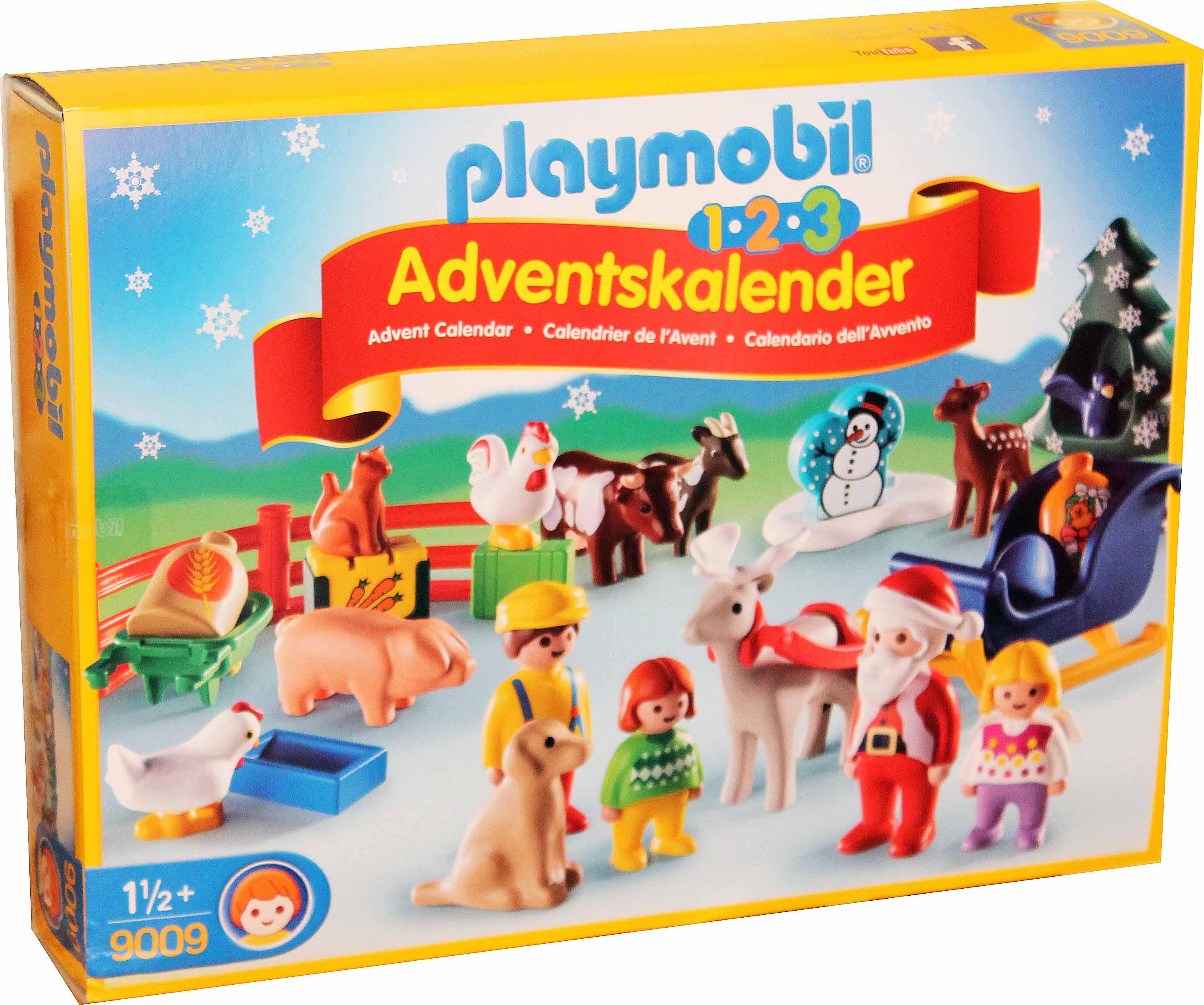 Playmobil 9009 1.2.3. Adventskalender Weihnachtskalender ...