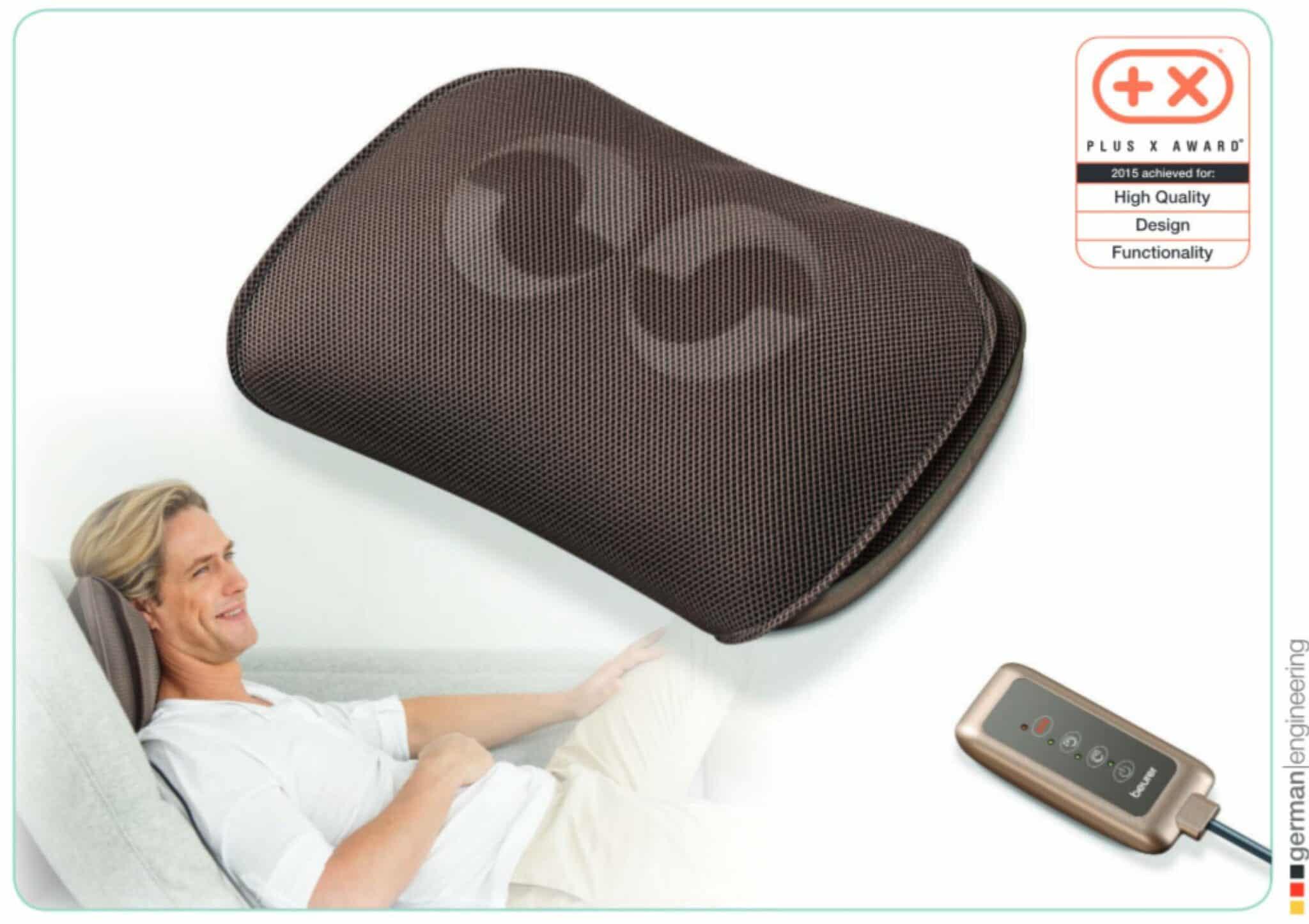 beurer shiatsu massage kissen massage nacken kissen neu ebay. Black Bedroom Furniture Sets. Home Design Ideas