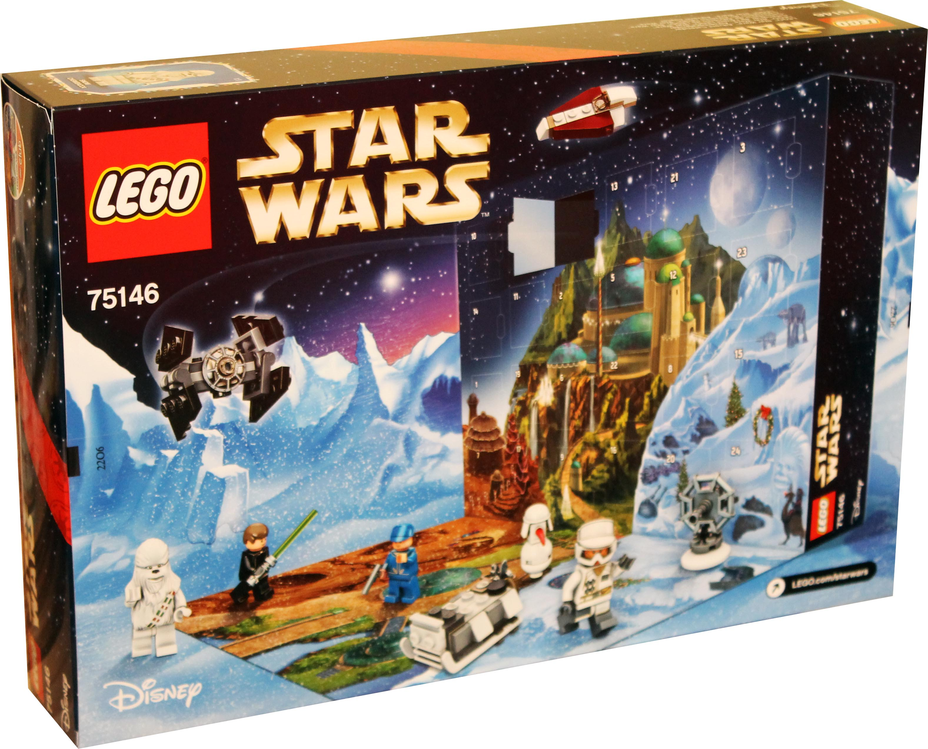 lego star wars 75146 disney adventskalender weihnachtskalender 2016 neu 5702015593953 ebay. Black Bedroom Furniture Sets. Home Design Ideas
