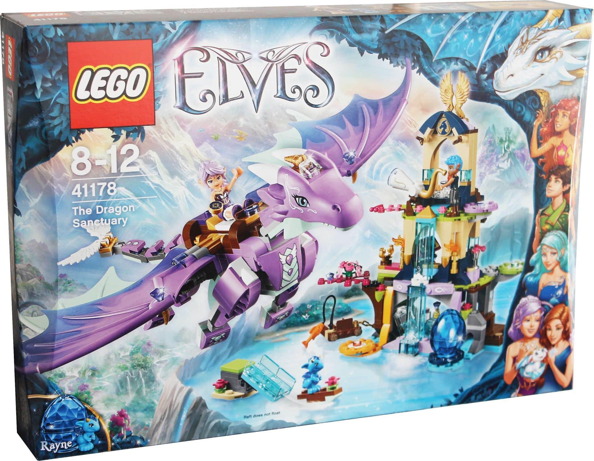 lego elves 41178 das drachenversteck drache neu  ebay