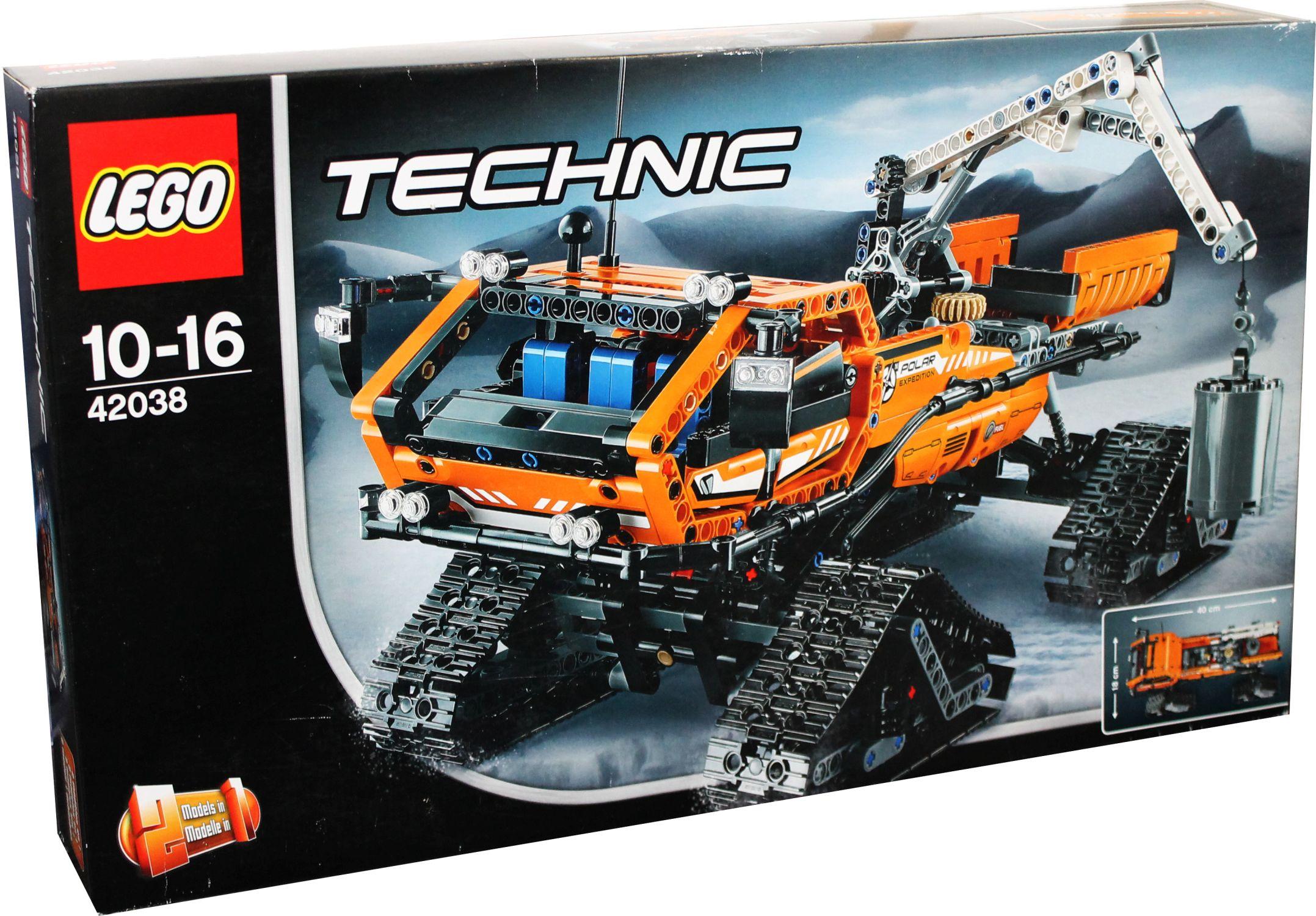 2 in 1 lego technic 42037 arktis kettenfahrzeug neu ebay. Black Bedroom Furniture Sets. Home Design Ideas
