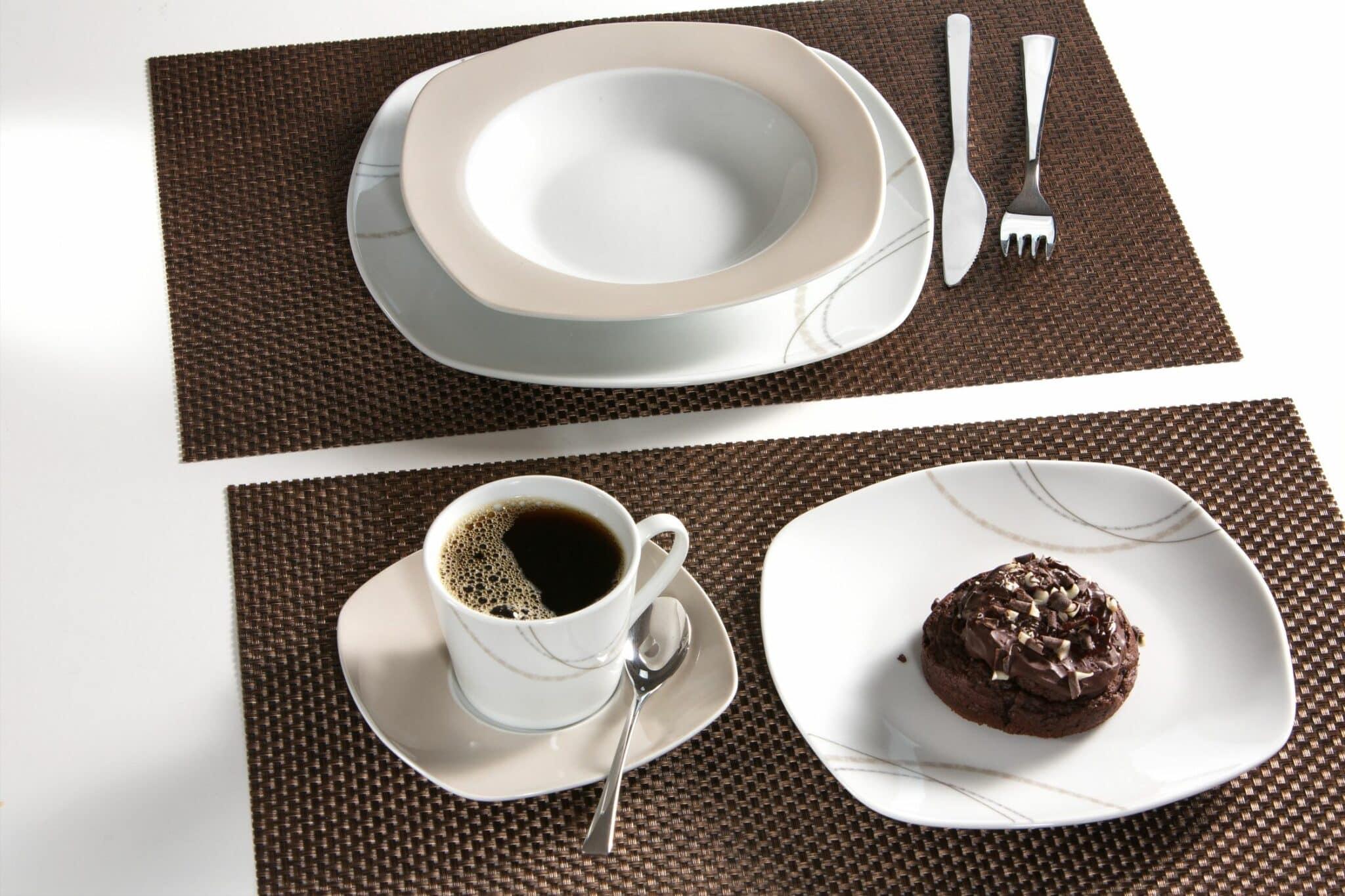ritzenhoff breker komplett set kombiservice porzellan serie linda 30 tlg ebay. Black Bedroom Furniture Sets. Home Design Ideas