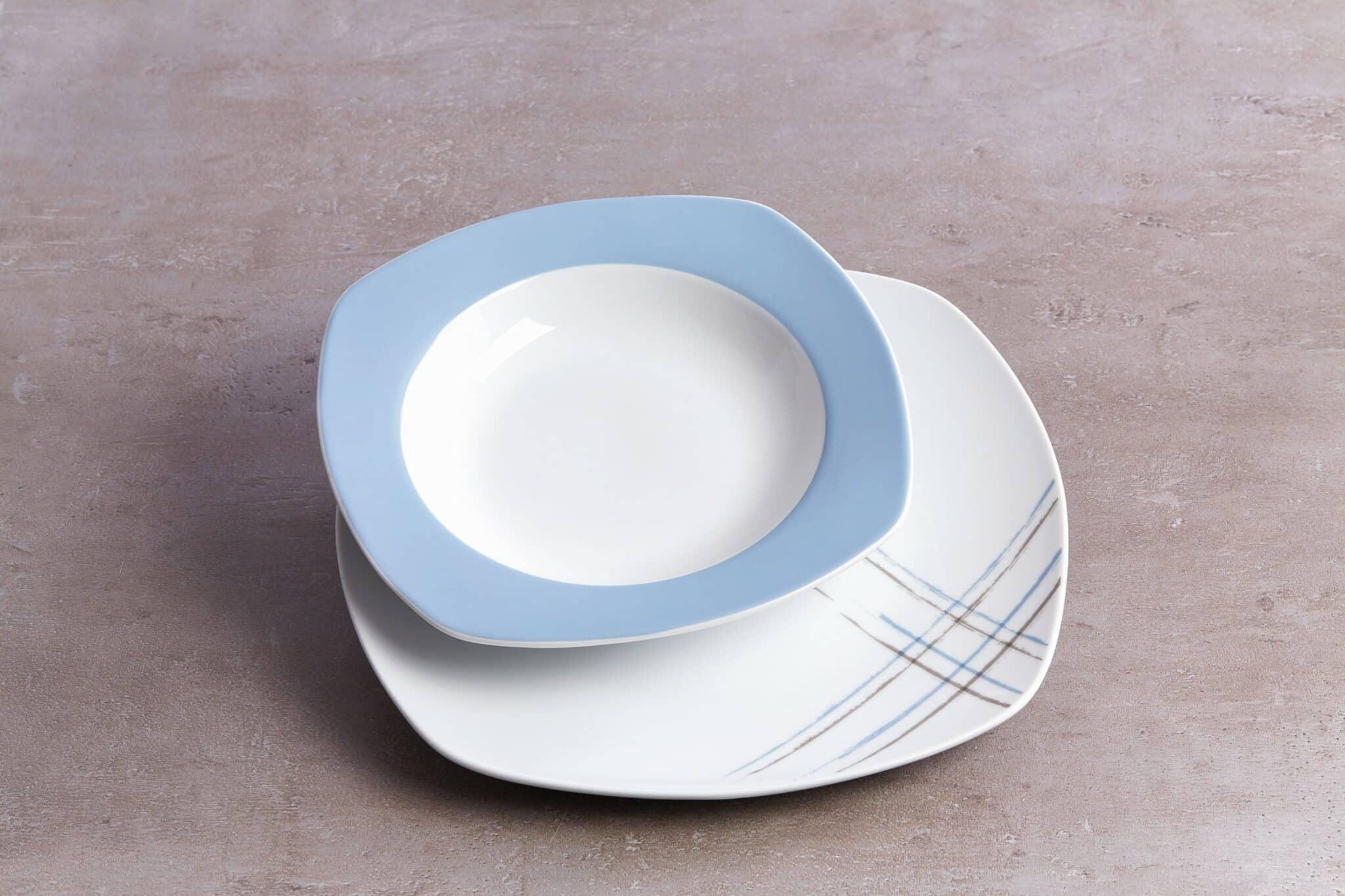 Ritzenhoff Tafelservice Porzellan Serie Blues 12 Tlg 6 Personen Neu Ebay