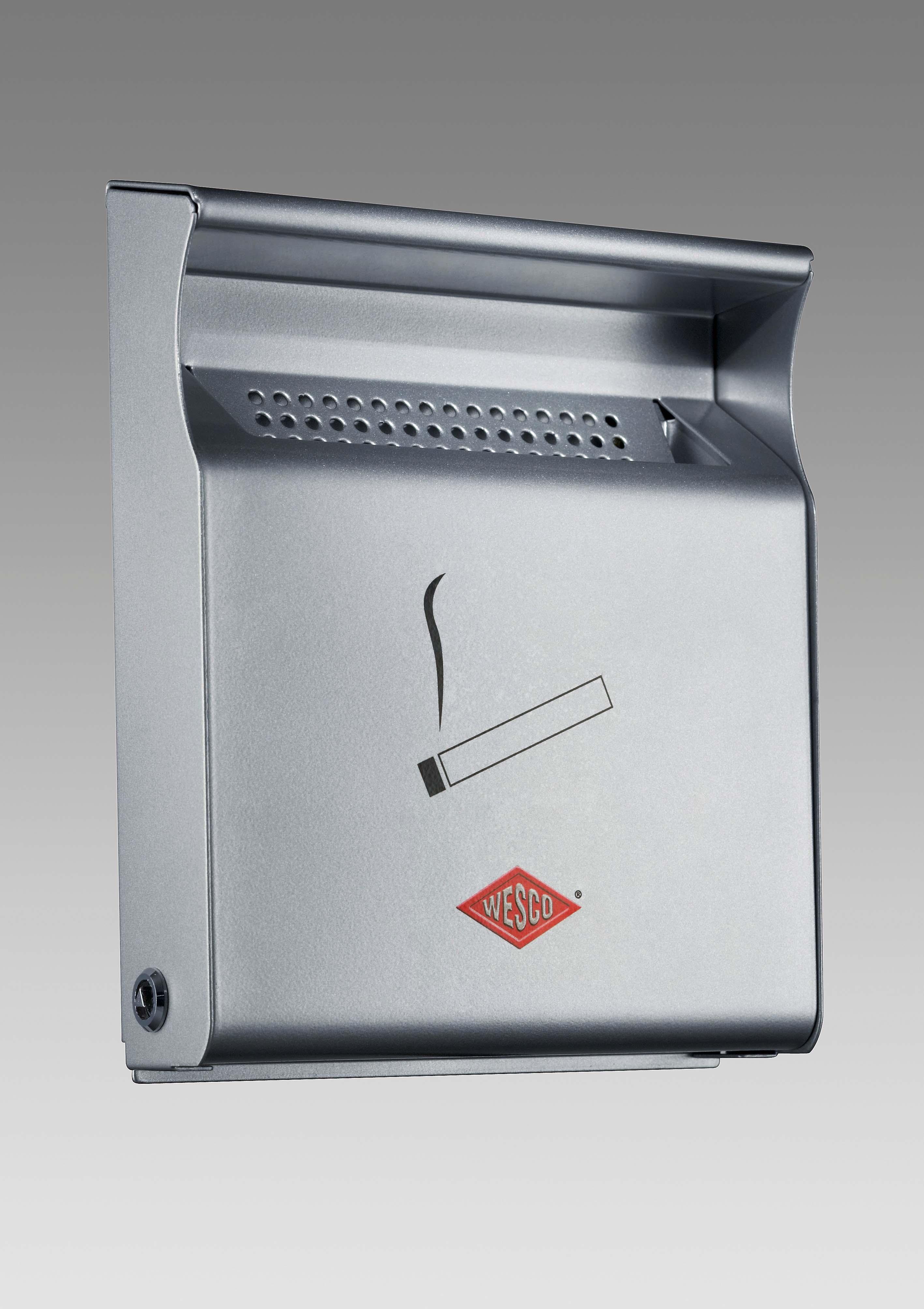 wesco wand aschenbecher wandascher ashtray smokers line. Black Bedroom Furniture Sets. Home Design Ideas