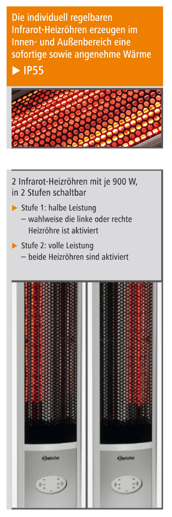 bartscher gastro elektrischer infrarot stand heizstrahler mit fernbedienung neu gastro. Black Bedroom Furniture Sets. Home Design Ideas