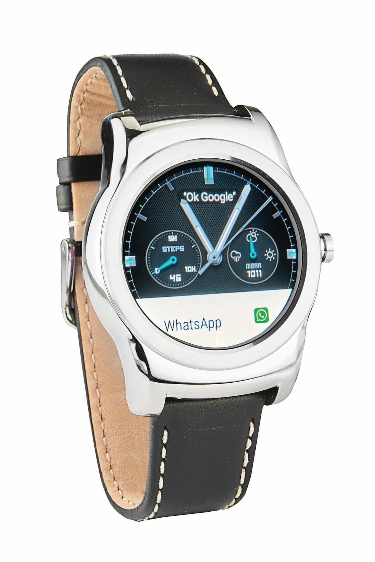 LG Watch Urbane Smartwatch Android Wear Lederarmband-Uhr ...