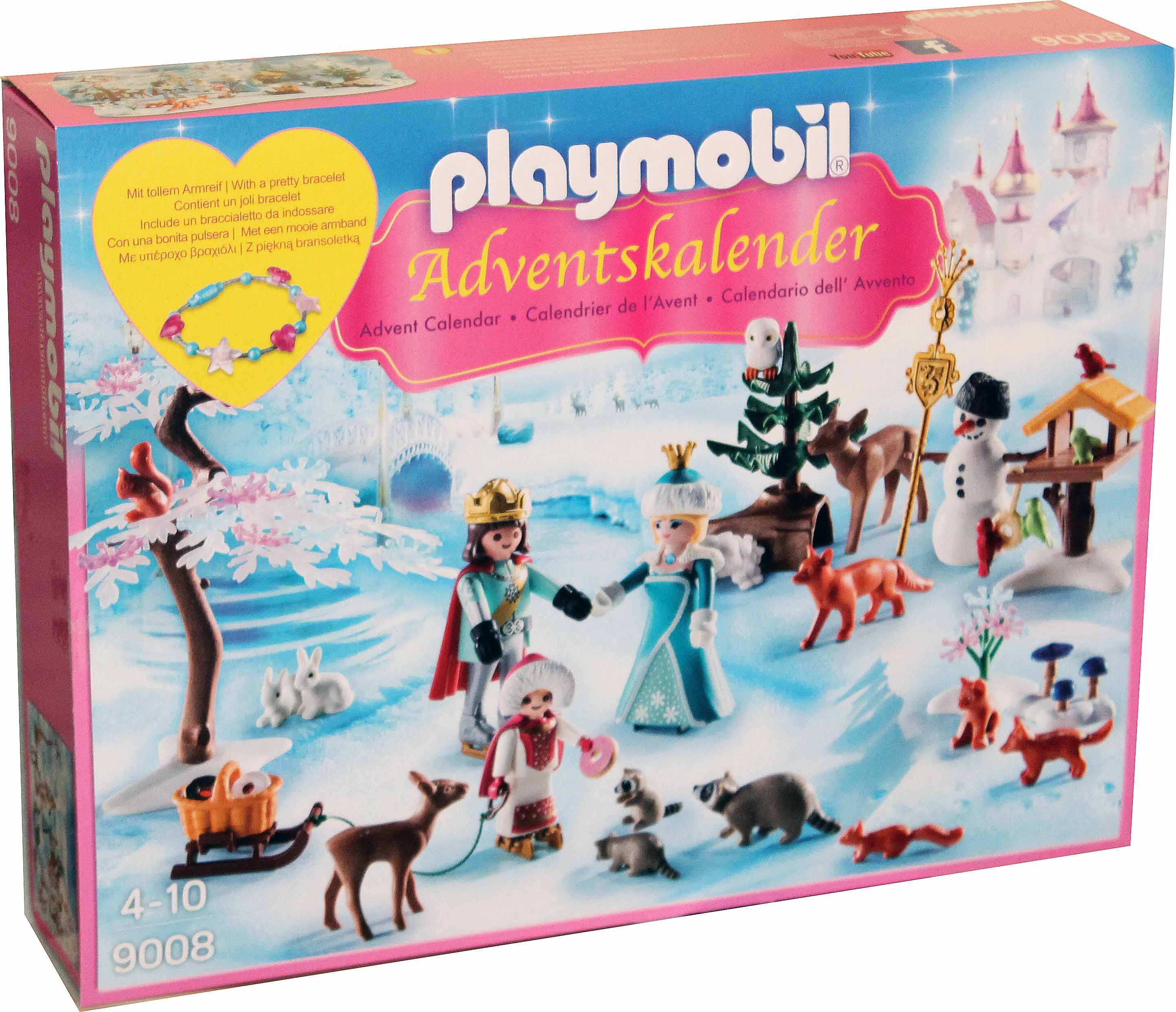 playmobil 9008 eislauf prinzessin adventskalender. Black Bedroom Furniture Sets. Home Design Ideas