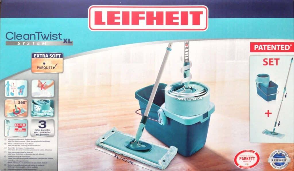 leifheit profi set clean twist xl putz eimer bodenwischer neu gastro. Black Bedroom Furniture Sets. Home Design Ideas