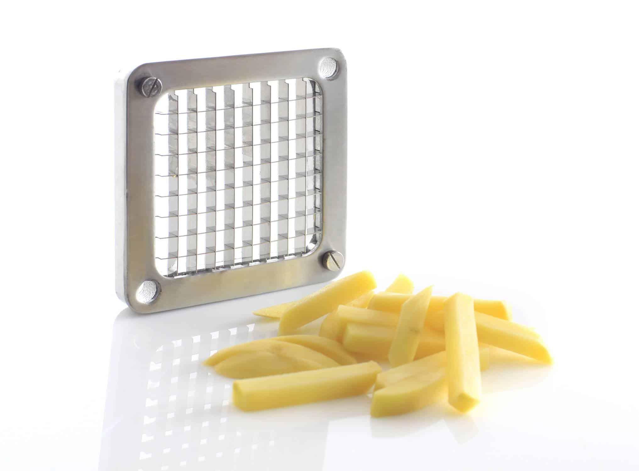 Hendi Pommes Schneider  Kartoffel-Spalten-Schneider Pommes-Maschine NEU