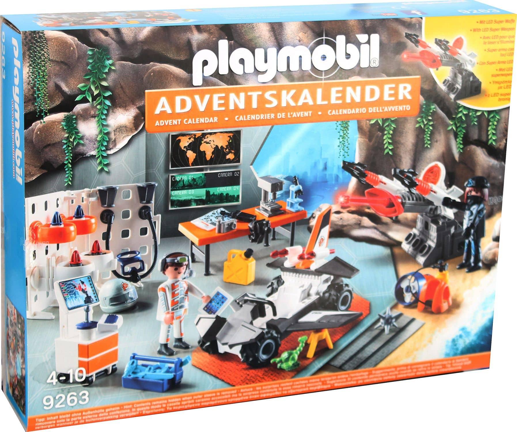 Playmobil Weihnachtskalender.Details Zu Playmobil Spy Team Werkstatt Adventskalender Weihnachtskalender Neu