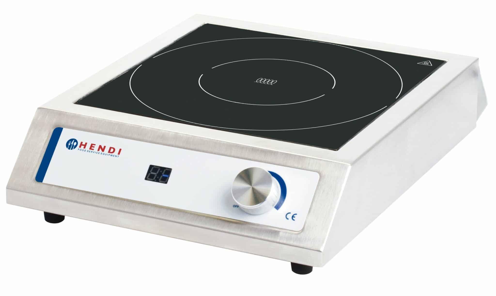 hendi gastro induktionskocher induktionsherd induction cooker manuell neu ebay. Black Bedroom Furniture Sets. Home Design Ideas