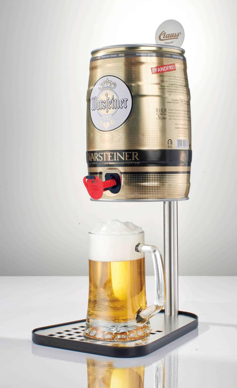 Clauss Bierfass-Halter für 5 Liter Party-Fass – Dose – Zapf-Anlage ...