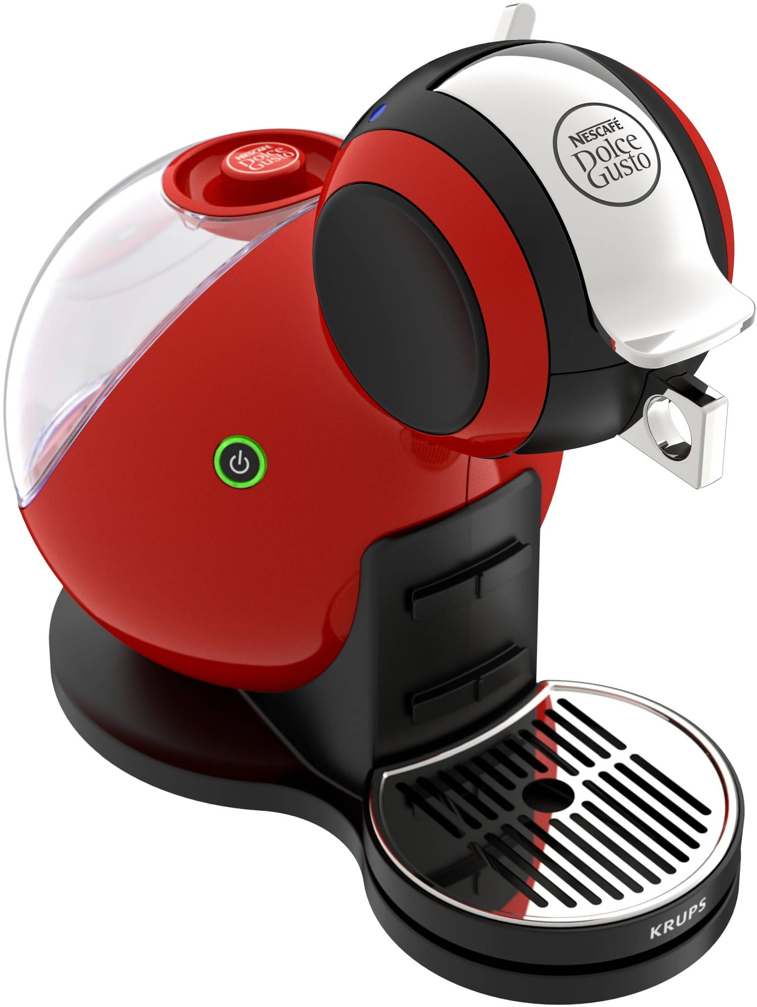 krups nescafe dolce gusto melody 3 kapsel kaffeemaschine m3 rot neu gastro. Black Bedroom Furniture Sets. Home Design Ideas