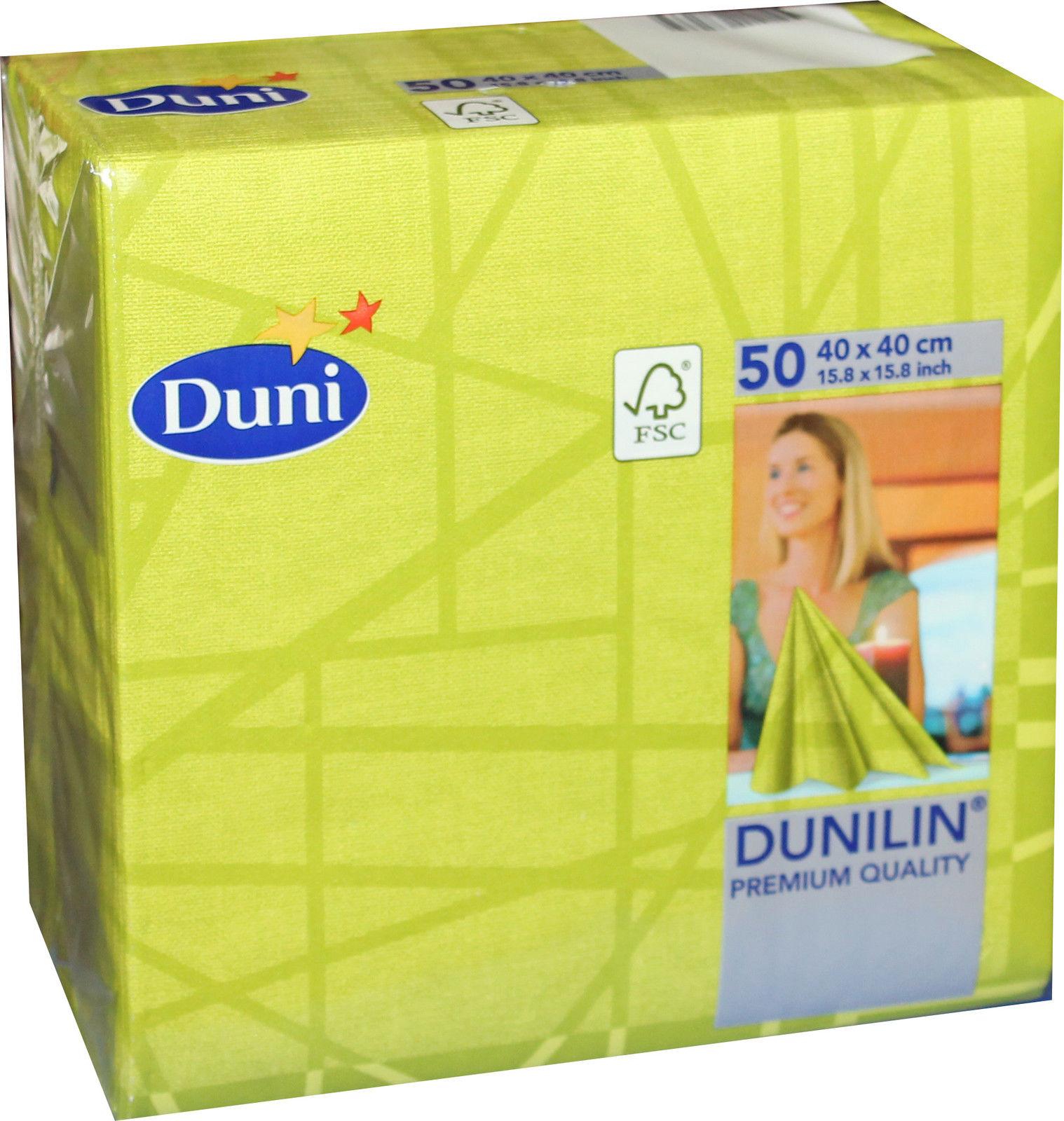 50 Duni Dunilin 173096 Gastro Servietten 40 X 40 Cm