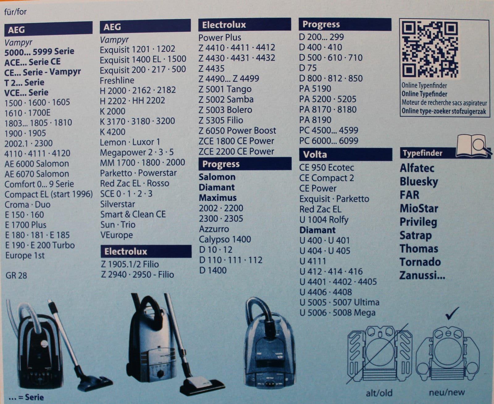112 Staubbeutel Premium Staubsaugerbeutel passend für Progress Diamant D 110