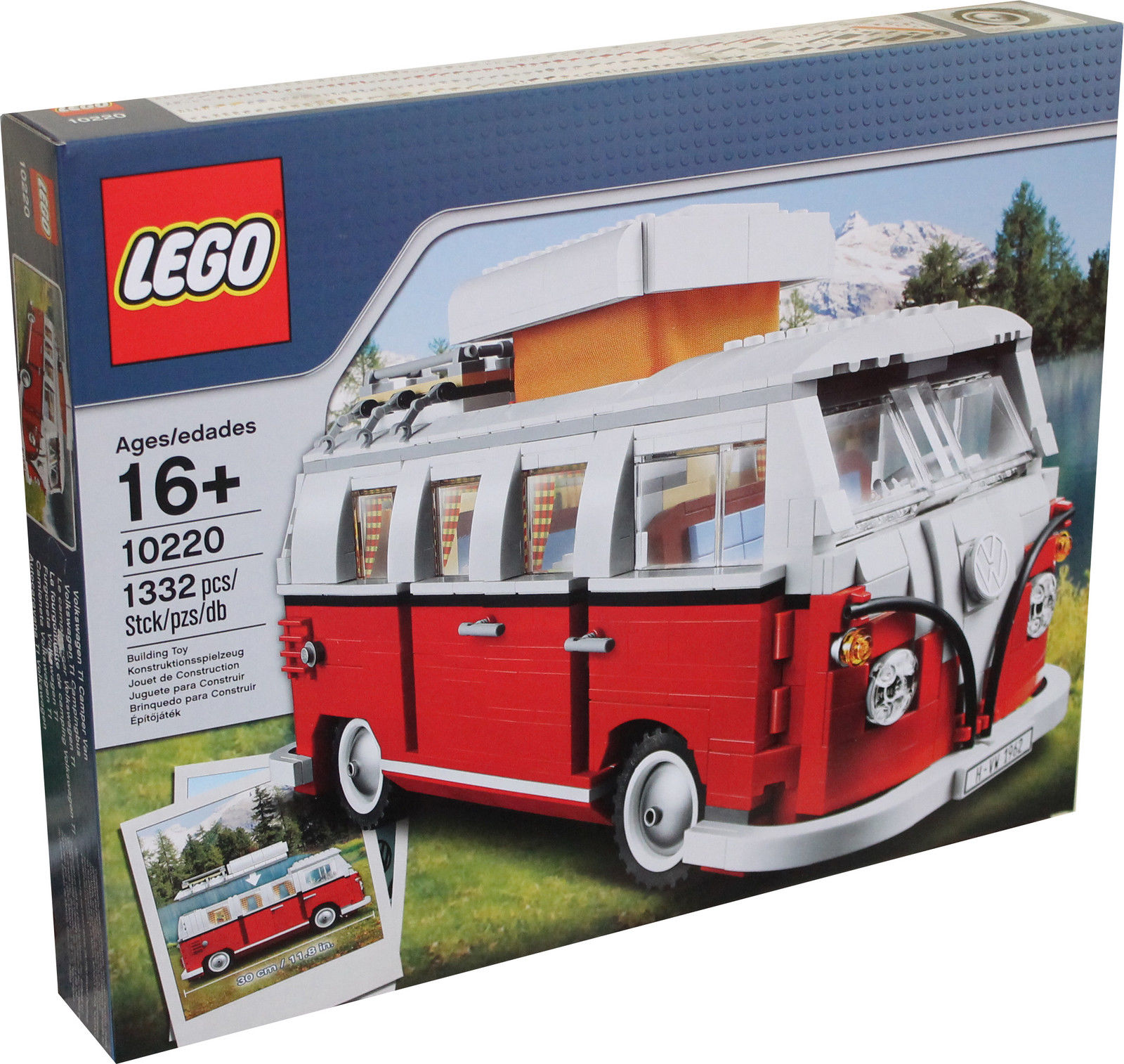 lego creator mini vw volkswagen t1 campingbus bus bulli. Black Bedroom Furniture Sets. Home Design Ideas