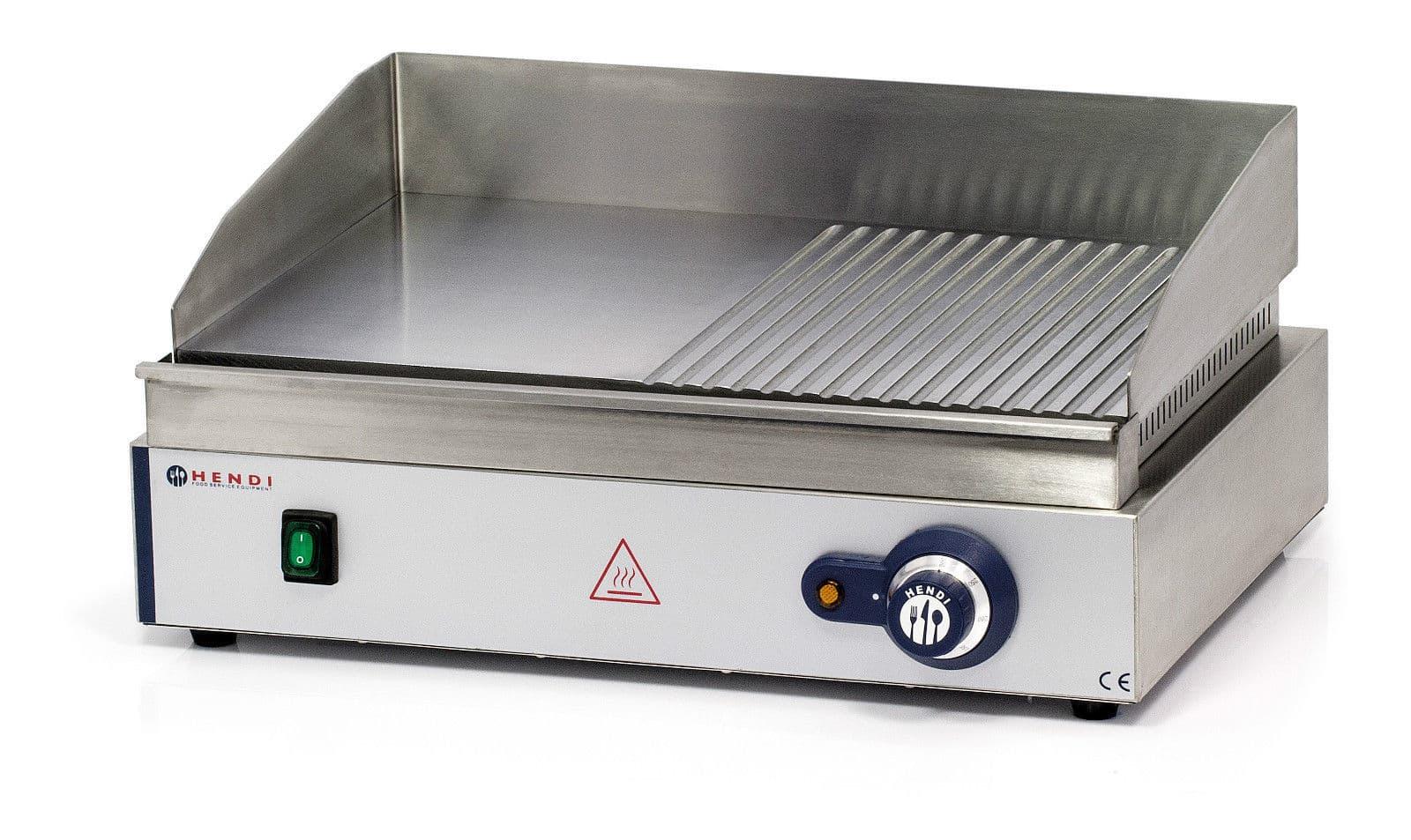 Hendi 203156 gastro imbiss griddle tischgerat tisch grill for Grill mit platte