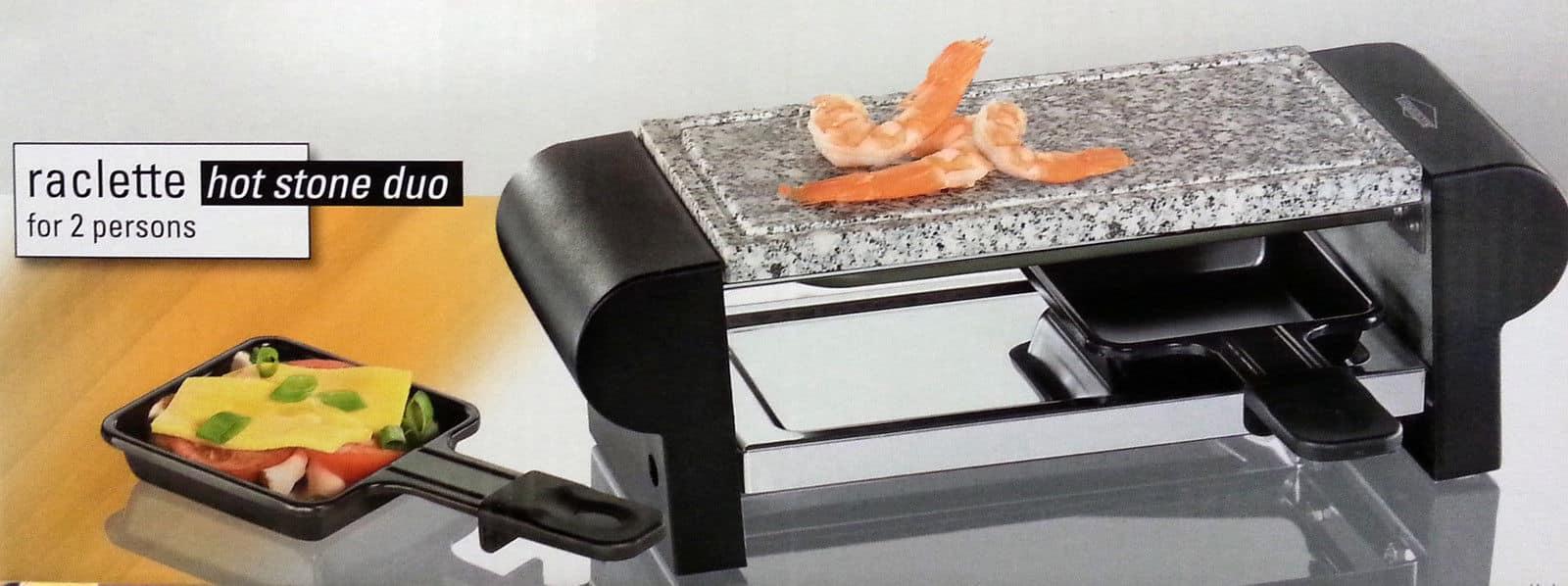 Küchenprofi Raclette Hot Stone Duo Bedienungsanleitung ~ küchenprofi raclette hot stone duo, schwarz neu ebay