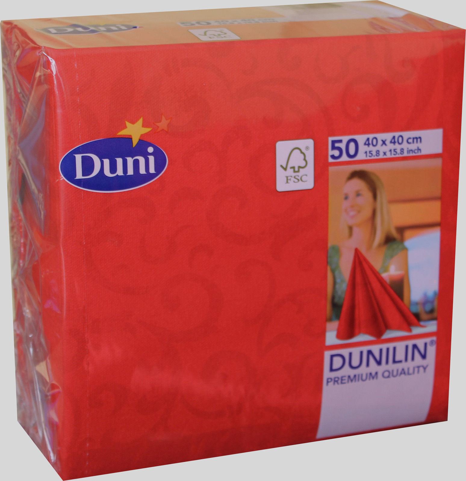 50x Duni 163297 Gastro Servietten 4 Lagig 40 40 Cm Sarala